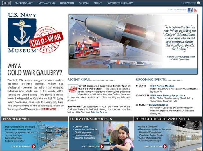Cold War Gallery Website