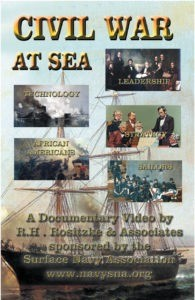 CIVIL WAR at Sea Poster