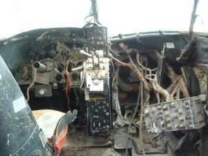 A-3 Cockpit Destroyed