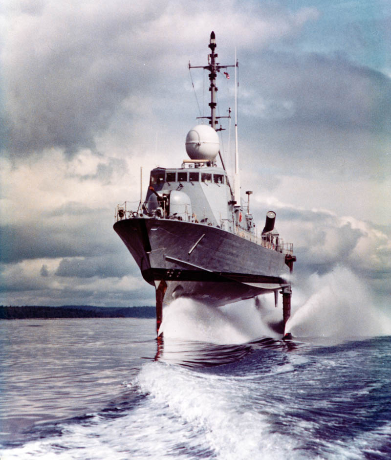 Uss pegasus underway from naval history and heritage command l file