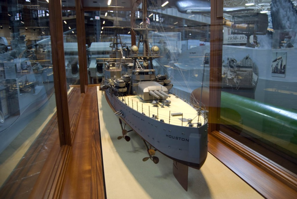 USS Houston Model 2