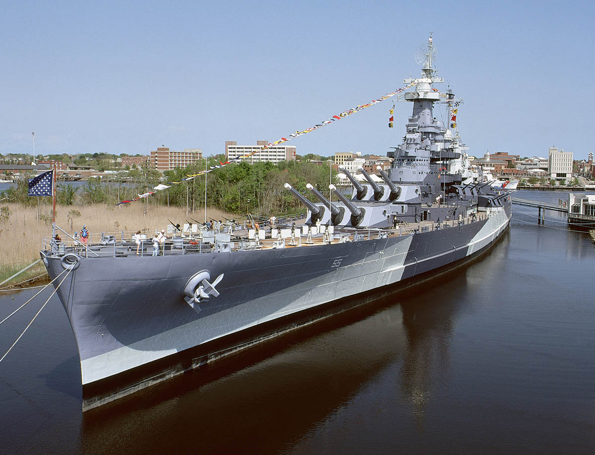 Battleship NORTH CAROLINA: NI4BK is On the Air! | Naval
