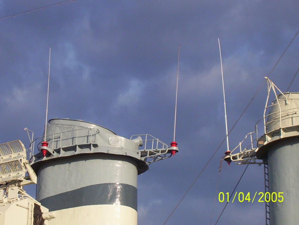 BB North Carolina - Antenna on Stack
