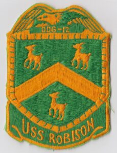 USS Robison Insignia Patch