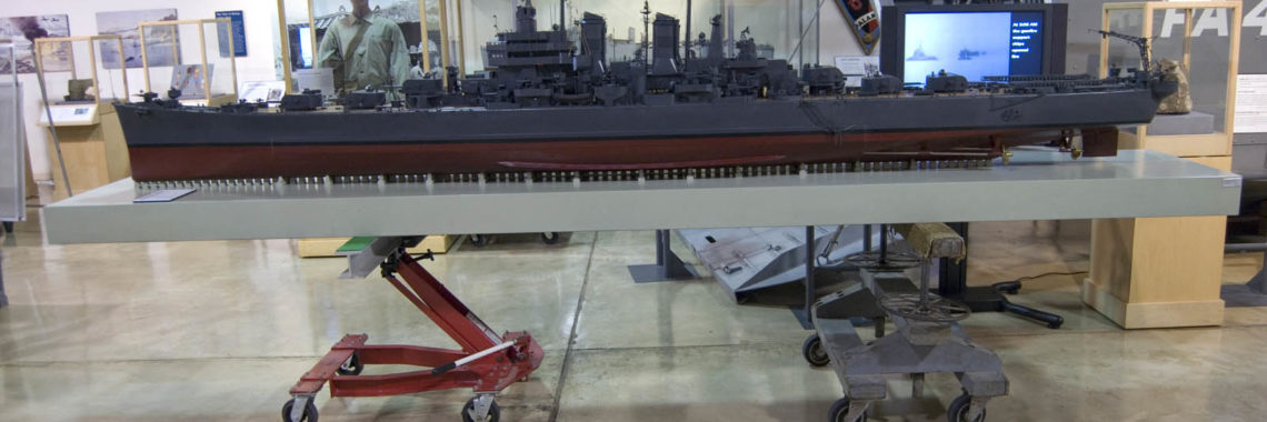 USS Worcester Model