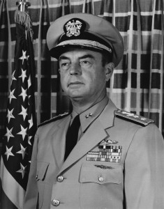 Then-RADM Frederick Harlfinger, in a 1963 photo. NHHC L-File.