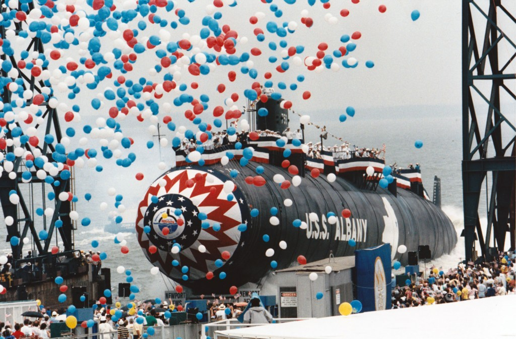 Albany Christening and Launching