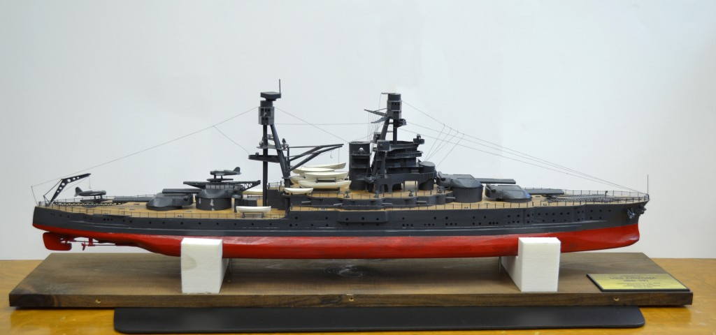USS Arizona Model