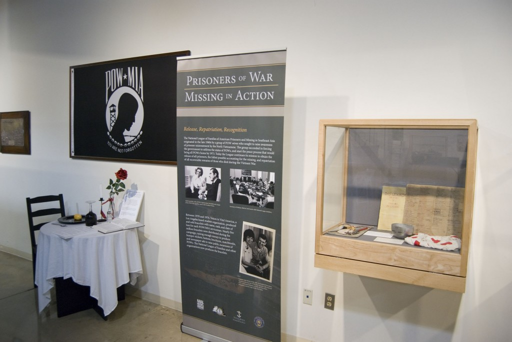 POW exhibit