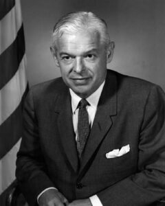 Honorable Paul Nitze, Secretary of the Navy. NHHC L-File.