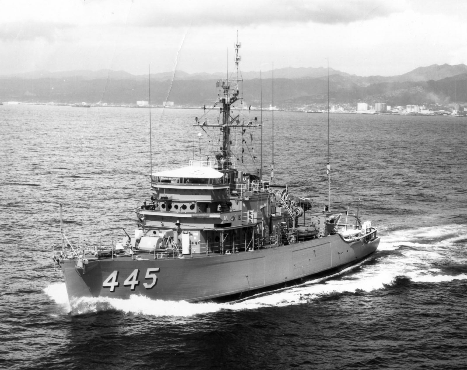 Minesweeper Uss Force Mso 445 Experiences Naval Historical Foundation