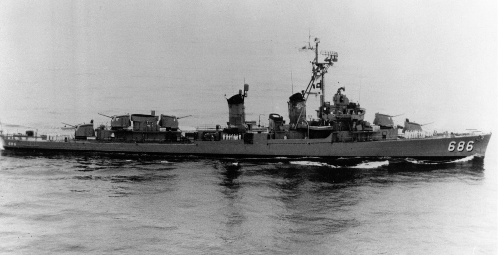 Life on a Fletcher Class Destroyer in the 1950's | Naval