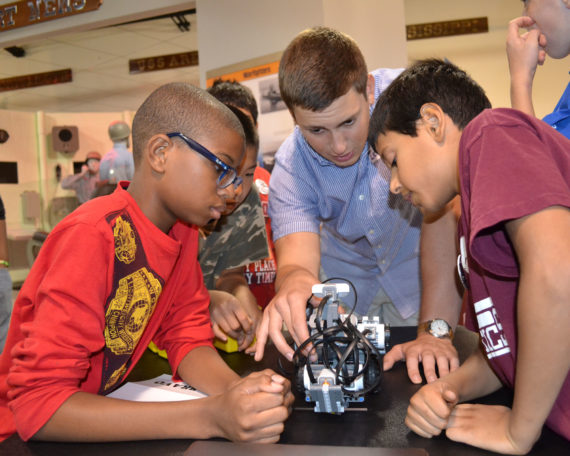 LEGO robotics camp 2013