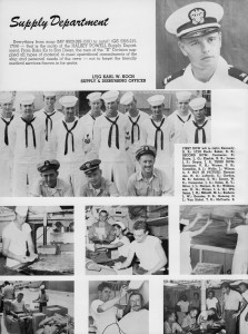Supply Department, USS Halsey Powell, from 1959-1960 Cruise Book