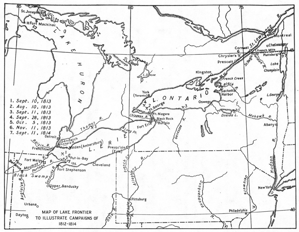 """From """"Seapower in Its Relation to the War of 1812 (Vol. 1, p. 371) by A.T. Mahan (Boston: Little, Brown, 1905)."""