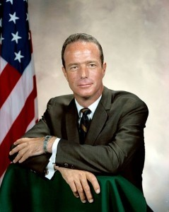 Astronaut Scott Carpenter (NASA Photo)