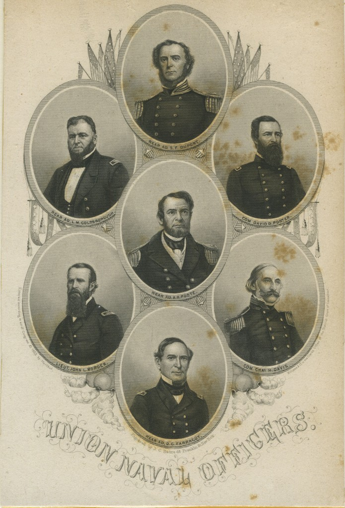 Union Naval Officers (NHHC Photo)