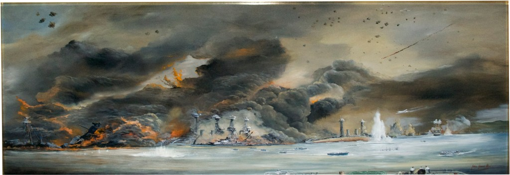 "Pearl Harbor ""error"" painting"