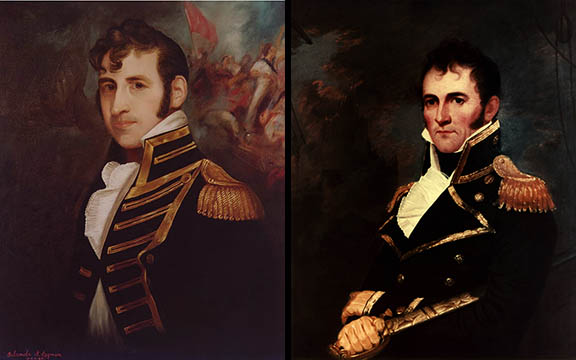 Stephen Decatur and David Porter