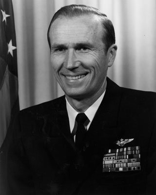 Vice Admiral Donald Engen, USN Photo courtesy U.S. Naval Institute