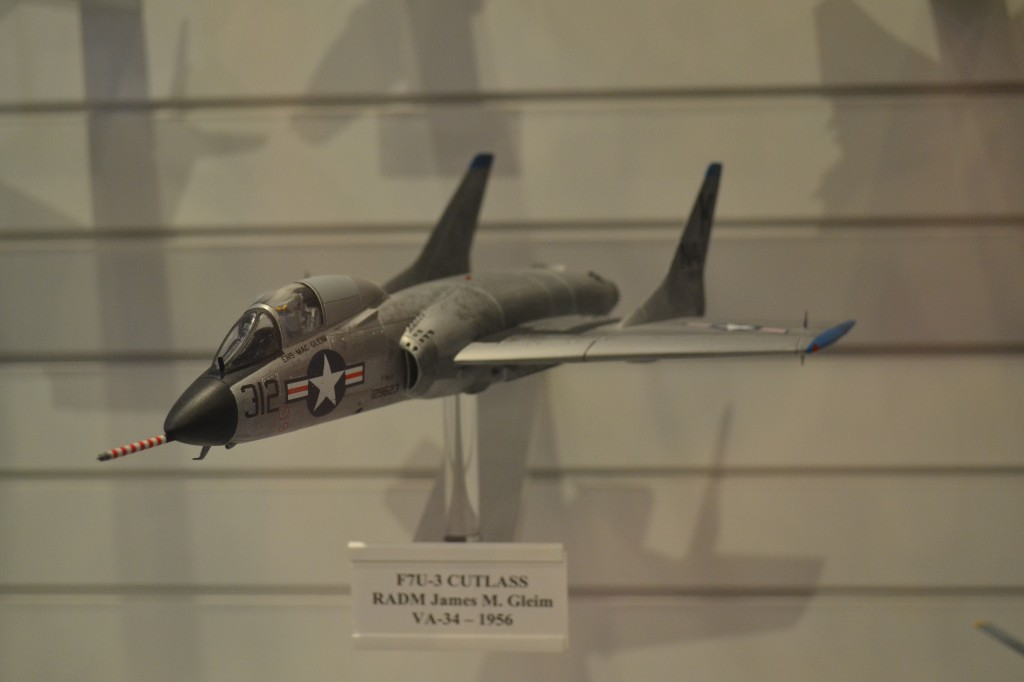 F7U-3 Cutlass, sponsored by RADM James M. Gleim