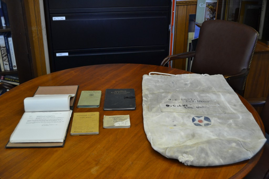 Donated Items from the Family of Ensign Dudley C. Lunt, USNRF