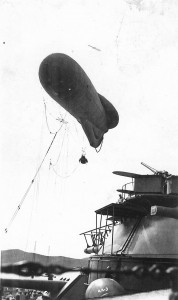 Kite Balloon on USS Arizona