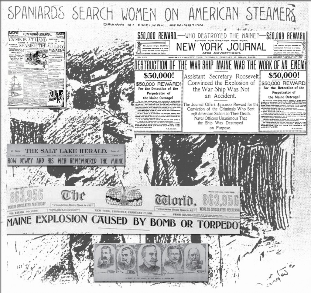 Newspaper Reaction to the Sinking of the Maine