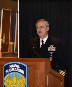 Captain David Ogburn, USN