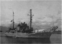 Net Tender USS Elder (AN 20)