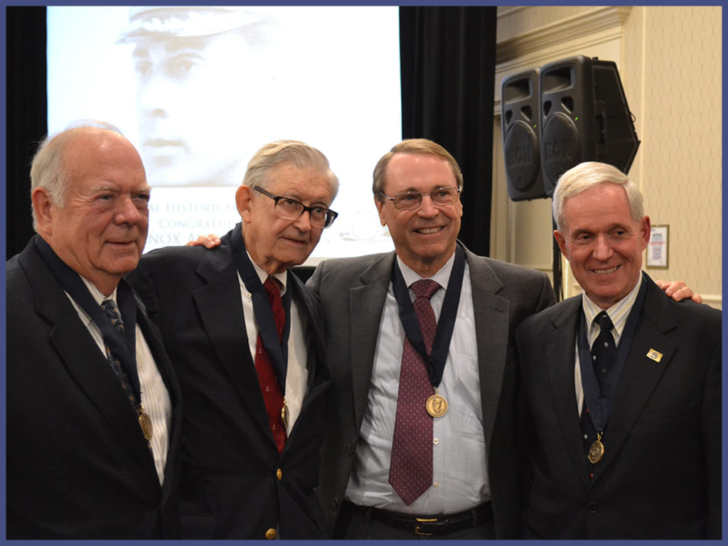 2014 Commodore Dudley W. Knox Naval History Award Winners (NHF Photo by Matthew Eng/Released)