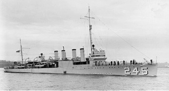 USS Reuben James  (DD 245)