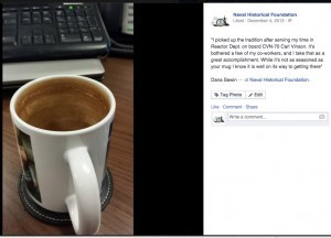 Screenshot example of coffee mugs from the NHF Facebook page