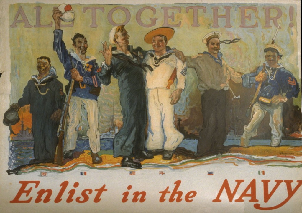 All Together! Enlist in the Navy, By Henry Reuterdahl