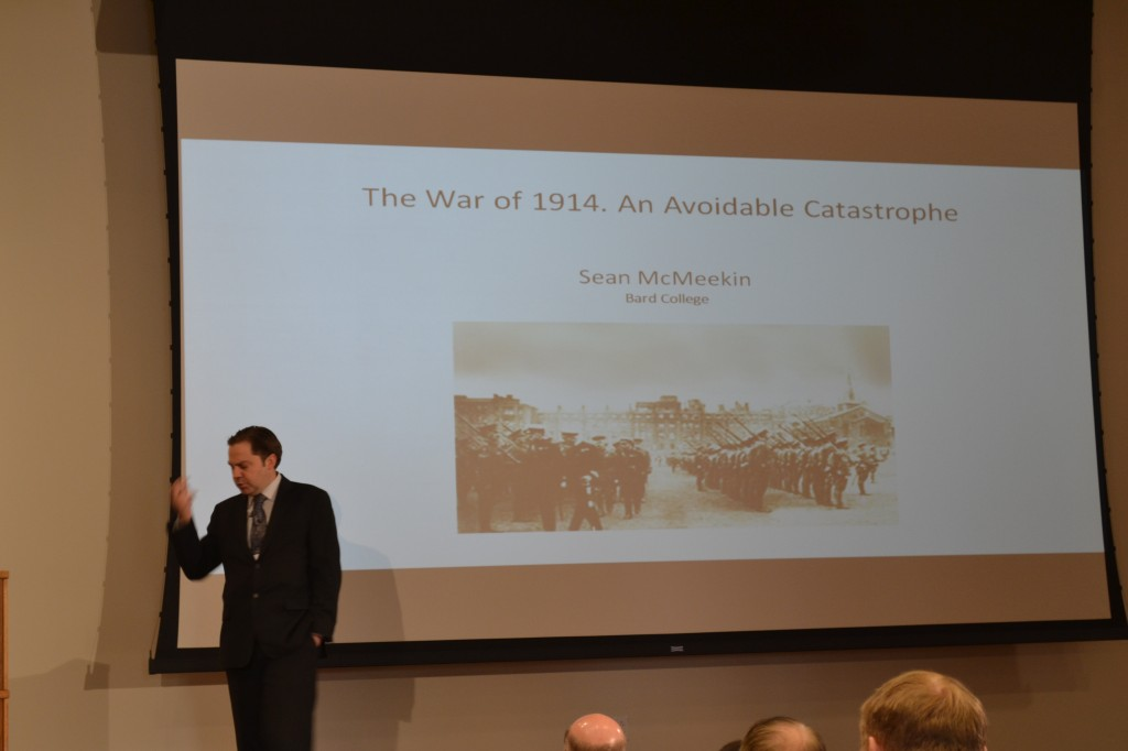 Dr. Sean McMeekin, The War of 1914: An Avoidable Catastrophe