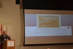 Dr. Frederick Dickinson, The Great War as World War: Japanese Belligerence and the Dawn of an Asia/Pacific World