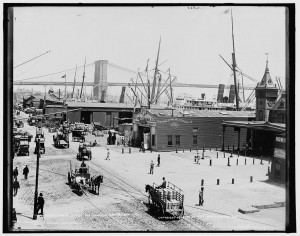 South Street Seaport, NYC (LOC Image)