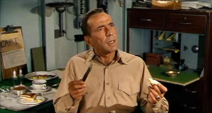 Humphrey Bogart in The Caine Mutiny