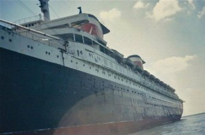 Picture taken of SS United States in my wife's collection from the 1980s, Norfolk, VA.