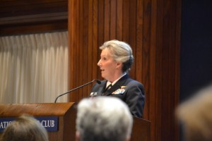 VADM Robin Braun, Chief of Navy Reserve and Commander, Navy Reserve Force.