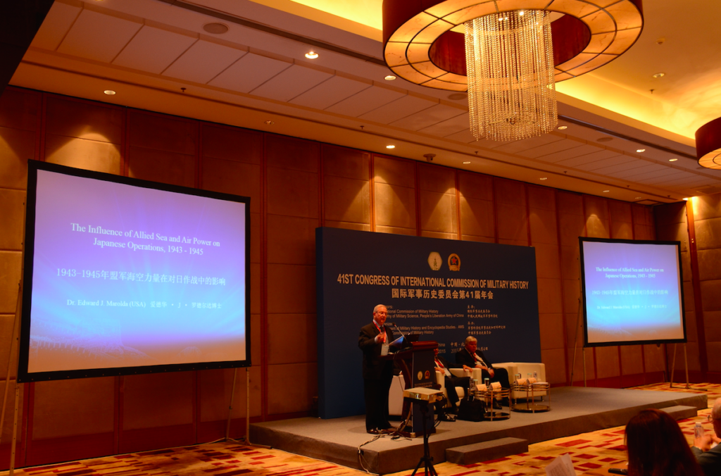 Dr. Marolda speaking at ICMH Conference in Beijing, China
