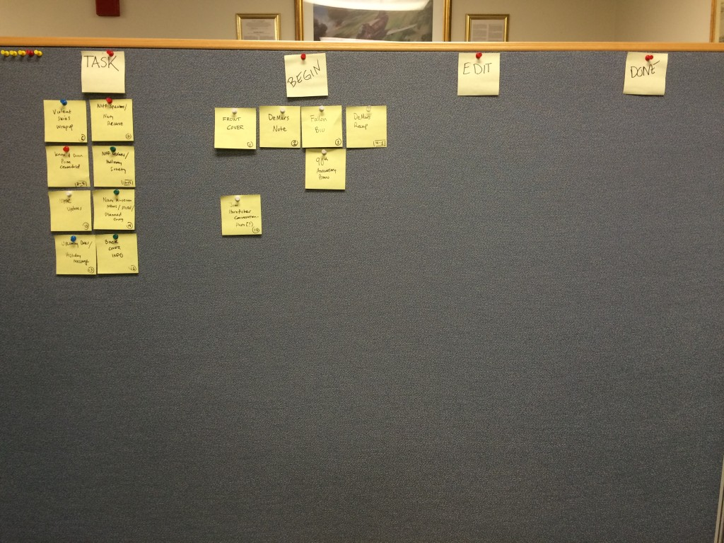 How I stay organized: My Scrum Burndown Chart. Confession: I got the idea watching the TV show Silicon Valley.