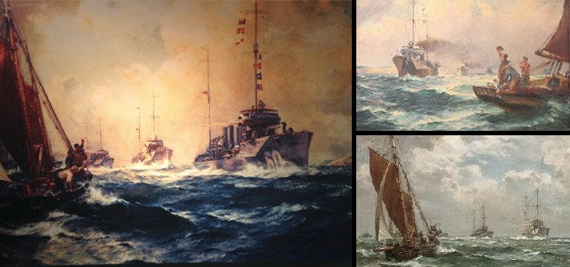 Various versions of The Return of the Mayflower