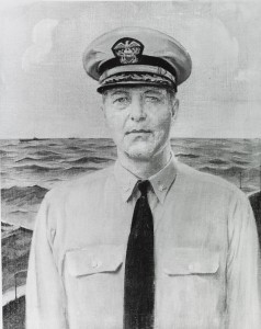 Captain Sherwood Picking (USN Photo # NH 72237-KN)