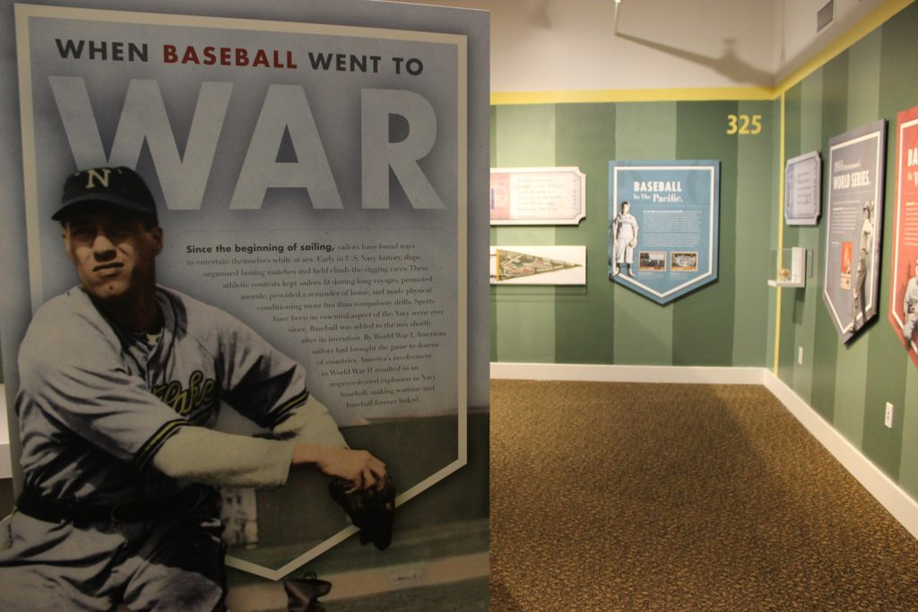 Photograph of new exhibit at Puget Sound Naval Museum (Photo by Megan Churchwell/Released)