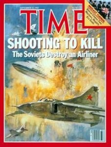Time Magazine Cover, Sept. 1983