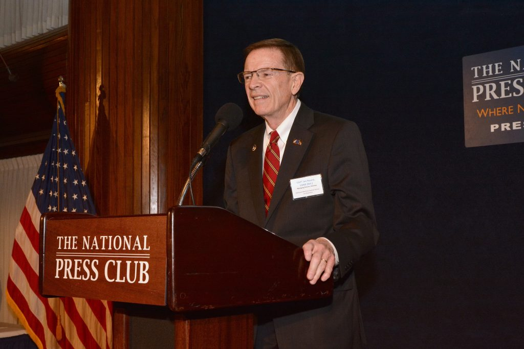 Capt. Jim Noone, USNR (Ret.), NMAD Co-Chairman