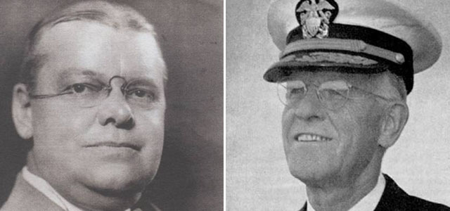 Jennings Cox and RADM Lucius Johnsons (TheAlcoholProessor/WETA)