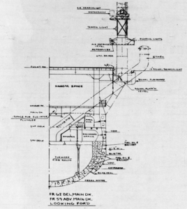 General Plans for USS Monterey (CVL 26) (HNSA)