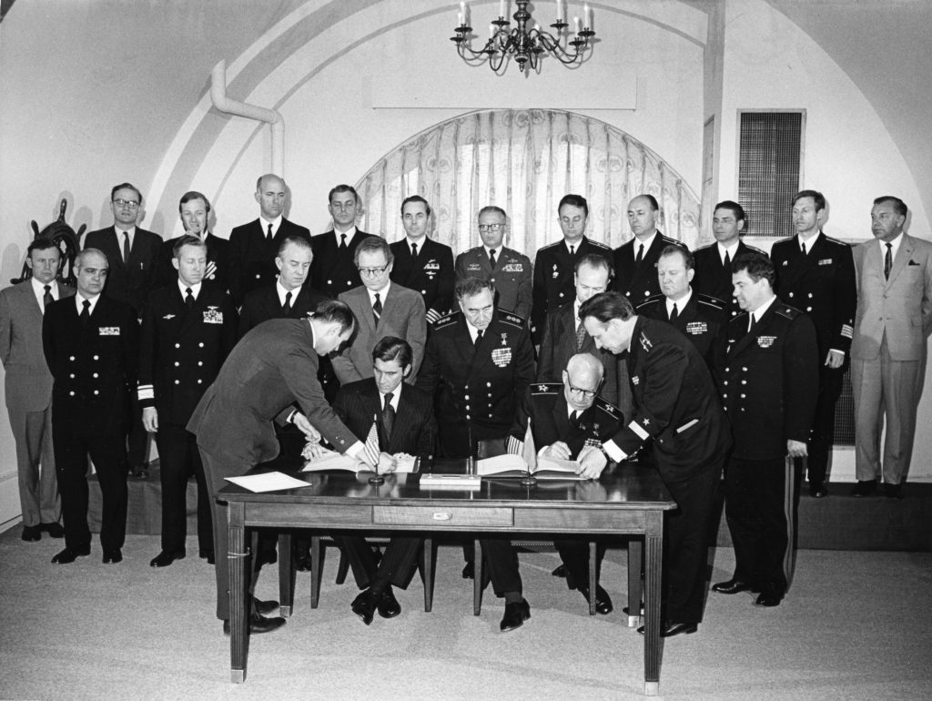 IncSea Agreement, 25 May 1972